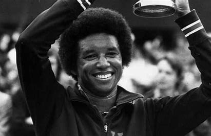 Image result for arthur ashe sick