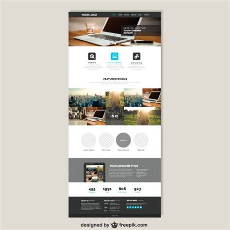 website vectors photos and psd files free download