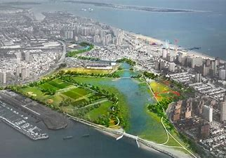 Image result for images new york city as canals and wetlands