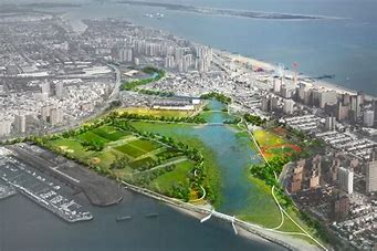 Image result for images nyc canals wetlands response to rising tides