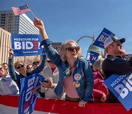 Image result for images hysterical biden supporters