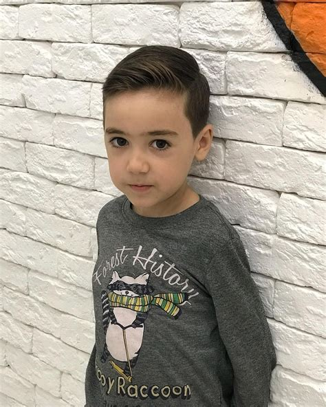 haircut for round face toddler boy wavy haircut