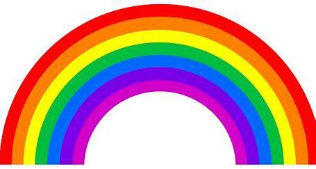 Image result for cartoon rainbow