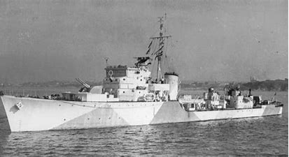 Image result for hms brocklesby ww2