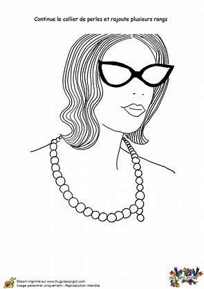 Résultat d'images pour collier maman coloraige