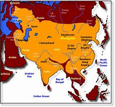 Image result for map mongol empire
