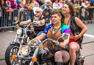 Image result for dykes on bikes images