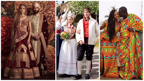 MOST AMAZING AND TRADITIONAL WEDDING OUTFITS FROM