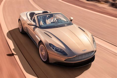 NEW ASTON MARTIN DB VOLANTE UNCOVERED AUTO EXPRESS