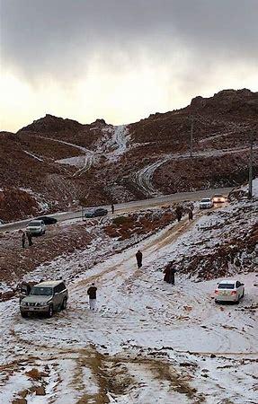 Image result for Saudi Arabia's Jabal Al-Lawz in winter