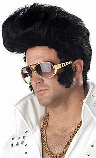 Image result for elvis wig