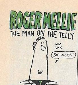 Image result for roger mellie the man on the tellie images