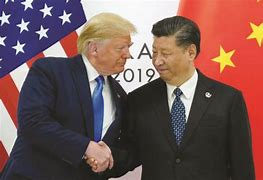 Image result for image of donald trump and china's president