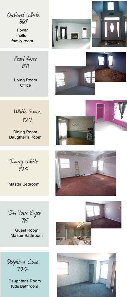 paint colors for the whole house color schemes
