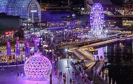 Image result for christmas in darling harbour
