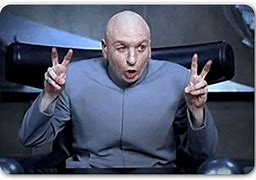 Image result for Dr. Evil Air Quotes