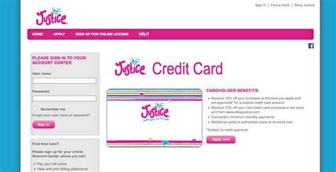 justice login Justice Credit Card Login | Perform your Login here Capital One Justice Credit Card Login, Application ...