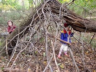 Image result for free picture of children buiding a fort
