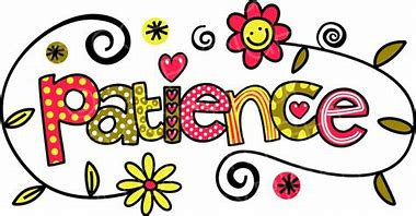 Image result for patience clip art