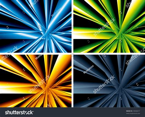 color burst vector background stock vector