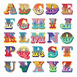 Image result for circus alphabet