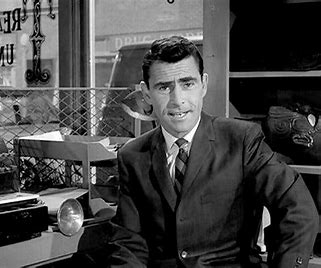 Image result for images of rod serling and twilight zone