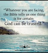 Image result for God can be trusted