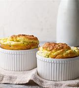 Image result for goat cheese and chive souffles