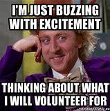 Image result for Volunteer Excitement