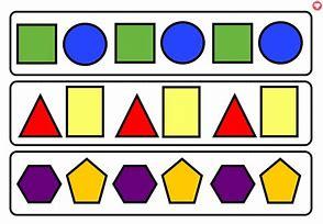 Image result for 2d shapes pattern