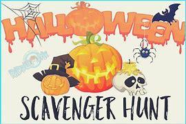 Image result for clip art halloween scavenger hunt