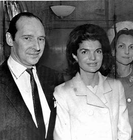 Image result for lord harlech and jackie kennedy images