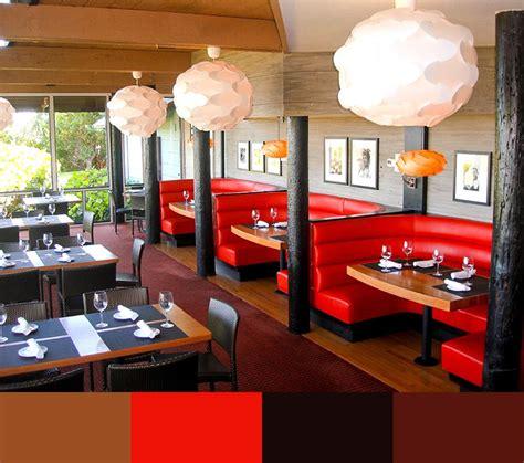 top restaurant interior design color schemes