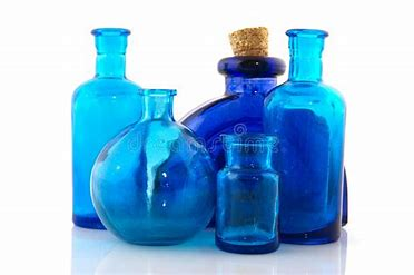 Image result for Blue Glass Objects