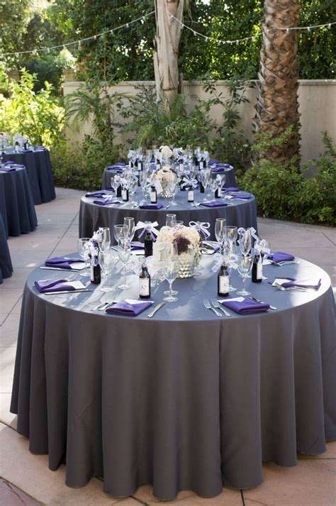 lovely purple and gray diy wedding peterson photography