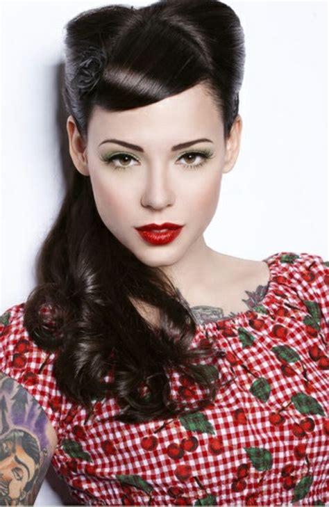 ideas for rockabilly hair inspired from the s