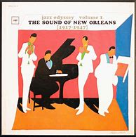 Image result for jazz odyssey music of new orleans volume 1 columbia