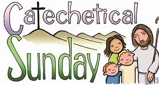 Image result for Catechetical Sunday Clip Art