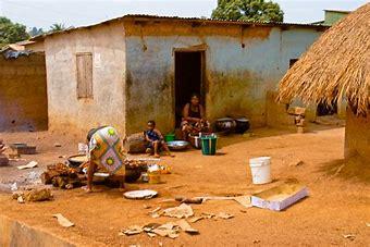 Image result for images poor nigerian villages