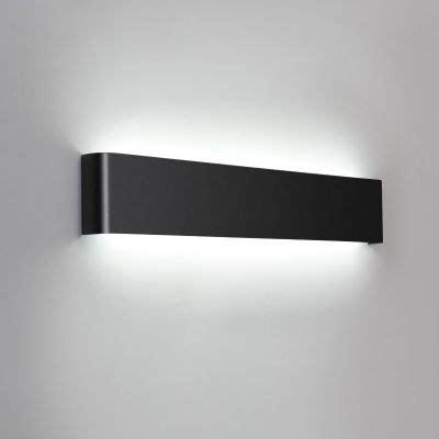 art deco wall light black finish brushed aluminum led
