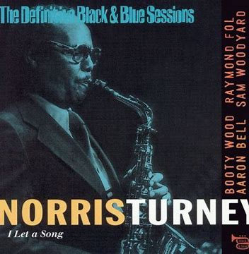 Image result for Norris Turney I let a song black and blue