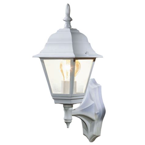 b q penarven outdoor wall light in white wall light