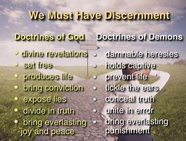 Image result for doctrines of demons in the christian church