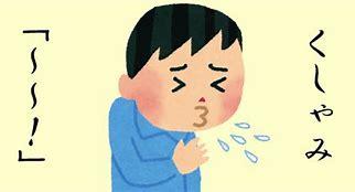 くしゃみ に対する画像結果