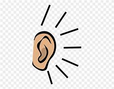 Image result for free clip art of listening ear