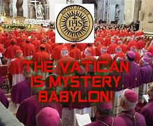 Image result for the mystery babylon church of today