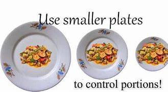Image result for benefits of smaller plates