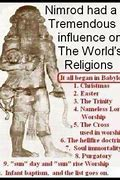 Image result for ANCIENT BABYLON PAGANISM