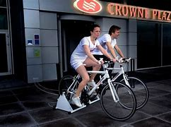 Image result for cycling for electricity crown plaza\