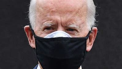 Image result for images joe biden two masks in basement